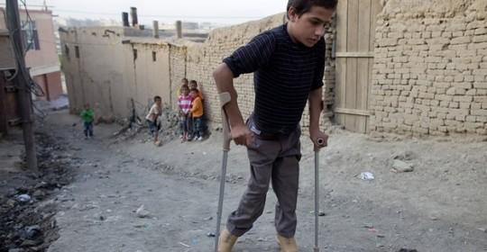 OMS: Alerta Maxima Poliomielita